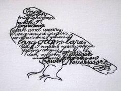 the raven, edgar allan poe.