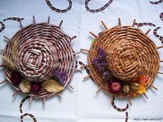 ШЛЯПКИ. Плетение из газетных трубочек (18) (700x525, 315Kb)