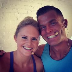 Big smiles after day one of filming Project Long and Strong!! Due to launch January 2016  What a JOY it was to work side by side with @duncanyoga !! He is such a mega goal crusher. A total professional  We talked about this in September and  it happened just like that! Today was one of those days that I'm grateful I chose a path less travelled and followed my forward lunges straight into fitness! #thesweatlife #joblove #projectlongandstrong #yoga #homefitness #hiitworkout #torontotrainers by…