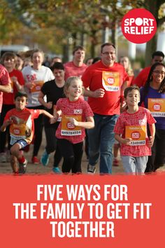 Discover 5 ways for the whole family to get fit (and have fun) together – with these ideas for Sports Relief 2016.