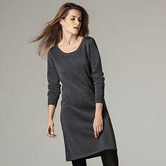 Sparkle Knit Dress | The White Company