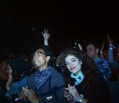 Lorde & James @ Coachella + Swimming - http://oceanup.com/2014/04/22/lorde-james-coachella-swimming/