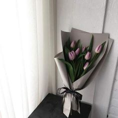 Trendy Flowers Gift Bouquet Floral Arrangements - Trendy Flowers Gift Bouquet Floral Arrangements The Effective Pictures We Offer You Ab - Flower Bouquet Diy, Tulip Bouquet, Gift Bouquet, Paper Bouquet, Boquette Flowers, How To Wrap Flowers, Luxury Flowers, Flower Box Gift, Flower Boxes