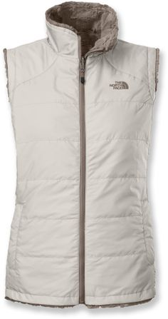 The North Face Mossbud insulated vest delivers cozy warmth in a reversible design. #REIGifts