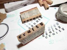 fab idea for small letter stamps