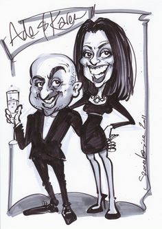 """DR M Loves A """"Fun Caricature Pose"""" At A Masquerade Party....."""