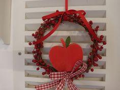 Türkranz Apfel von Villino Luca auf DaWanda.com