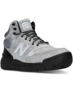 New Balance Men's Fresh Foam Paradox Casual Sneaker Boots from Finish Line - Gray 13 Mens Fashion Shoes, Sneakers Fashion, Men's Fashion, Mens Rugged Boots, Men's Shoes, Shoe Boots, Shoes Men, Red Wing Boots, New Balance Men