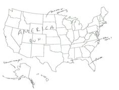 15 People In London Were Asked To Name US States On A Map. The Results Are Hysterical