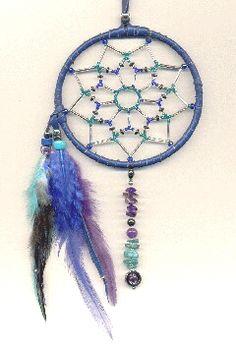 heavily beaded dreamcatchers make lovely gifts