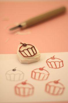 Pecsét készítési tutorial    Tutorial Tuesday: make a rubber stamp - Mollie Makes
