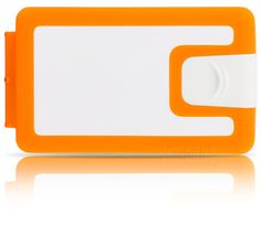 Good morning RHYTHM :)  - This is the vibrant and stimulating orange  and white Lockbox -  silicone wallet - $39.90 - We are shipping worldwide!
