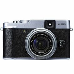 Buy Fuji FinePix X20 12MP Camera - Silver at Argos.co.uk - Your Online Shop for Compact digital cameras.