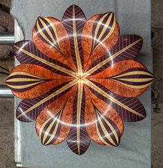 Segmented Flower Bowl - by BedHedNed @ LumberJocks.com ~ woodworking community