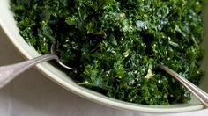 NYT Cooking: Lemon-Garlic Kale Salad