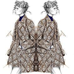 Fashion illustration // Alexandra Clarke