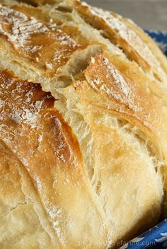 Simplified version 5 Minute Artisan Bread with ***Tutorial***. Sound too good to be true? You'll think your kitchen's been transformed to a European bake shop! Bread Machine Recipes, Easy Bread, Bread And Pastries, Bread Rolls, How To Make Bread, Bread Baking, Cooking Recipes, Cooking Pasta, Fast Recipes