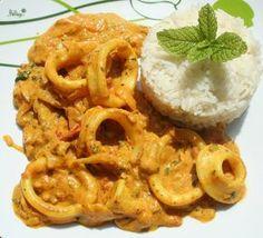 Curry d'encornet ou calamar