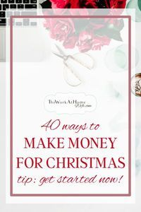 This time of year isn't just stressful because of gift giving, there are a lot of reasons you may need extra cash. Regardless of why, here are several ways to make money by Christmas.