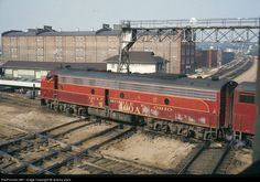 RailPictures.Net Photo: GMO 100A Gulf, Mobile & Ohio EMD E8(A) at Joliet, Illinois by Jeremy plant