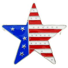 July 4th Star Pin American Flag Pin Brooch And Pendant