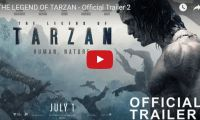 """THE LEGEND OF TARZAN – Official Trailer 2 Just in time for summer, THE LEGEND OF TARZAN, starring Alexander Skarsgård (HBO's """"True Blood""""), will be out in theaters July 2016…. It has been years since the man once known as Tarzan (Skarsgård) left the jungles of Africa behind for a gentrified life as John Clayton III, Lord Greystoke, with his beloved wife..."""