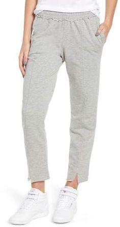 Project Social T Lowsen Split Hem Sweatpants Athletic Pants, Pajama Pants, Nordstrom, Sweatpants, Comfy, Cotton, How To Wear, Fashion, Moda
