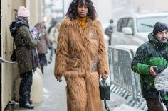 BG STREET STYLE/Not+Even+A+Blizzard+Could+Stop+New+York+Fashion+Week+Street+Style+#refinery29+http://www.refinery29.com/2017/02/137147/fashion-week-street-style-fall-2017-photos#slide-87