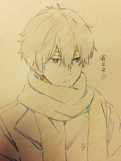 Anime Boy Manga Boy Anime Drawing Sleepy Rubbing The Eye