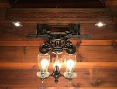 Stunning Rustic Victorian Hay Trolley Chandelier Cabin Light By LukesnHyde  On Etsy Https://