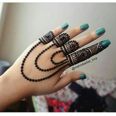 Most Famous,easy and beautiful jewellery henna mehndi Design for hands for diwali,eid,weddings Modern Henna Designs, Basic Mehndi Designs, Mehndi Designs For Beginners, Mehndi Designs For Girls, Mehndi Design Photos, Latest Mehndi Designs, Mehandi Designs Easy, Simple Designs, Henna Tattoo Hand