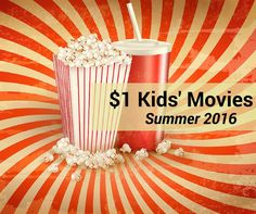 $1 kids movies summer 2016