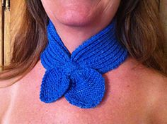 Knitted neck cozy and& headband. Very easy to knit. Neck Scarves, Ribs, Crochet Necklace, Great Gifts, Projects To Try, Cozy, Knitting, Accessories, Ideas