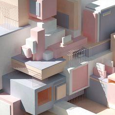 """다음 @Behance 프로젝트 확인: """"Shape + Form"""" https://www.behance.net/gallery/58156201/Shape-Form"""