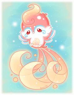 Gumnimal for by Sarilain on DeviantArt Cute Kawaii Animals, Cute Animal Drawings Kawaii, Cute Little Drawings, Kawaii Art, Cute Fantasy Creatures, Mythical Creatures Art, Cute Creatures, Creature Drawings, Cute Dragons