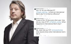 Richard Herring tirelessly spends International Women's Day fighting sexism | The Telegraph