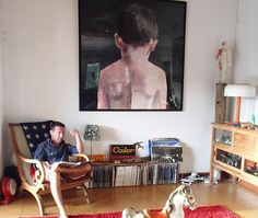Go inside the studio of Wilfrid Moizan: http://magazine.saatchiart.com/articles/artnews/saatchi-art-news/inside-the-studio-saatchi-art-news/wilfrid-moizan