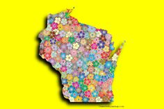 Wisconsin Photo Map Maker. Place your own pictures on the Wisconsin map and apply the shadow effect.