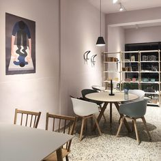 Modern shop interior Modern Shop, Conference Room, Interior, Table, Shopping, Furniture, Home Decor, Indoor, Meeting Rooms