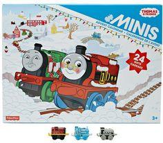 Thomas mini trains advent calendar