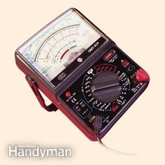 How to Use a Multimeter - Step by Step | The Family Handyman