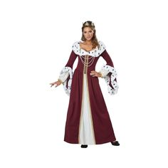 Halloween Women's Royal Storybook Queen Adult Costume X-Large, Size: XL, Multicolored