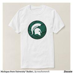 Michigan State University® Basketball Fan T-shirt