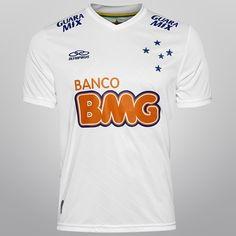 Camisa Olympikus Cruzeiro II 2014 nº 10 - Branco