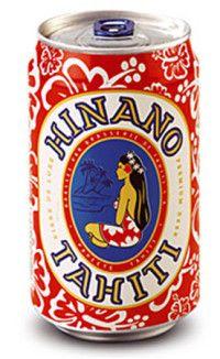 Hinano beer can