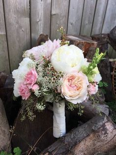 Perfect for your rustic elegant bridal bouquet