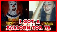 Pennywise | I GOT A BALLOON FOR YA - Omegle Scare