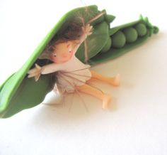 The pea fairy by mysweetfairy on Etsy