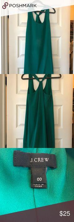 Green Jcrew Cocktail Dress Green, Size 00, mini dress - great condition! J. Crew Dresses Mini