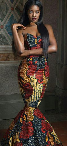 Latest Ankara Dress Styles - Loud In Naija African Fashion Designers, African Inspired Fashion, African Print Fashion, Africa Fashion, African Attire, African Wear, African Women, African Models, African Outfits